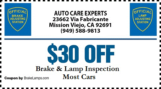 and Lamp Inspection Mission Viejo