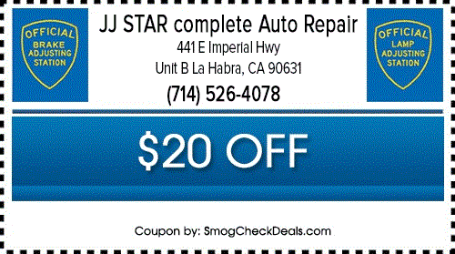 Jj Star Complete Auto Repair Brake And Light Inspection